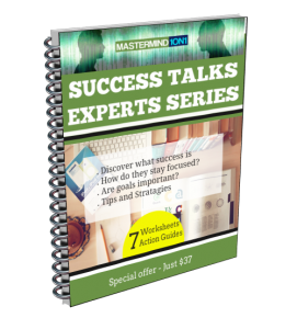 Success talks - biographies and worksheets